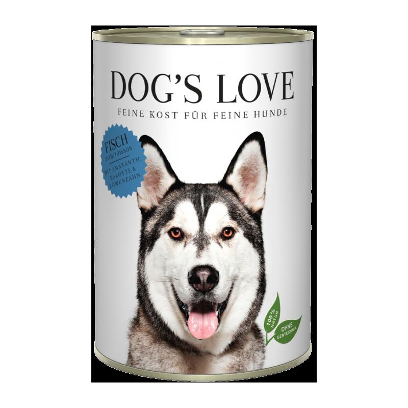 NOURRITURE POUR CHIEN ADULTE (POISSON)  MARCHAL  DOG'S LOVE