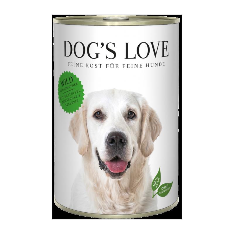NOURRITURE POUR CHIEN ADULTE (GIBIER)  MARCHAL  DOG'S LOVE