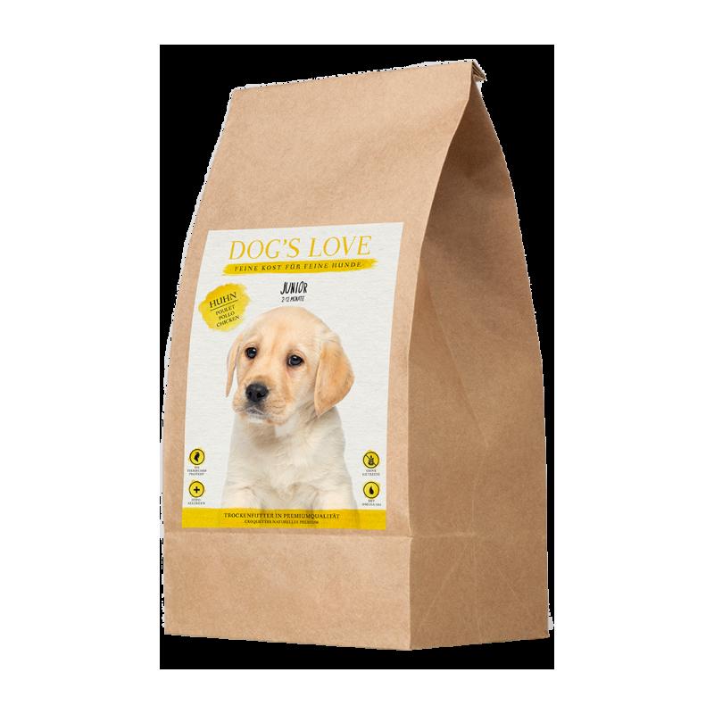 CROQUETTES POUR CHIOT (POULET)  MARCHAL  DOG'S LOVE