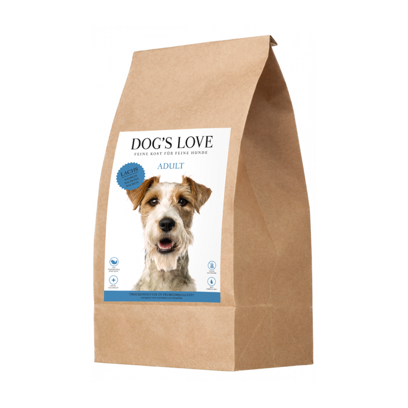 CROQUETTES POUR CHIEN (SAUMON ET TRUITE)  MARCHAL  DOG'S LOVE