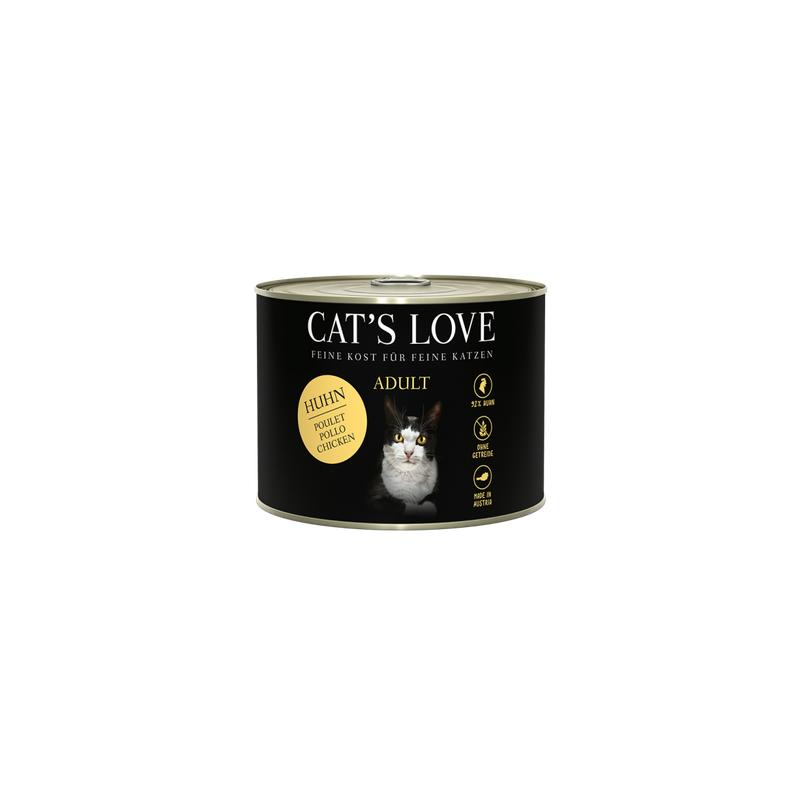 NOURRITURE POUR CHAT ADULTE (POULET)  MARCHAL  CAT'S LOVE