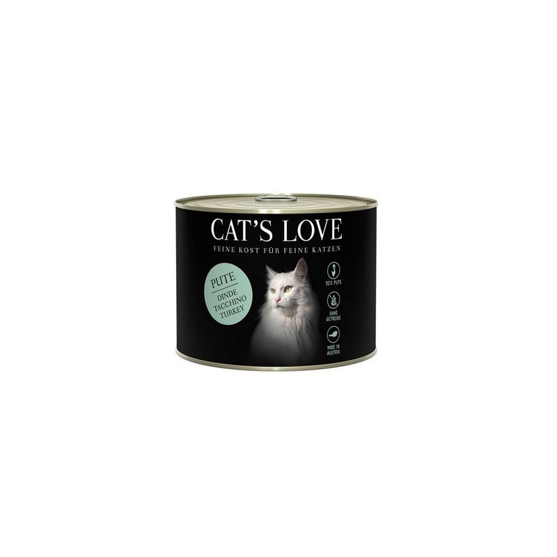 NOURRITURE POUR CHAT ADULTE (DINDE)  MARCHAL  CAT'S LOVE
