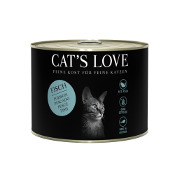 NOURRITURE POUR CHAT ADULTE (POISSON)  MARCHAL  CAT'S LOVE