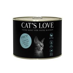 NOURRITURE POUR CHAT ADULTE (POISSON)  MARCHAL  CAT'S LOVE