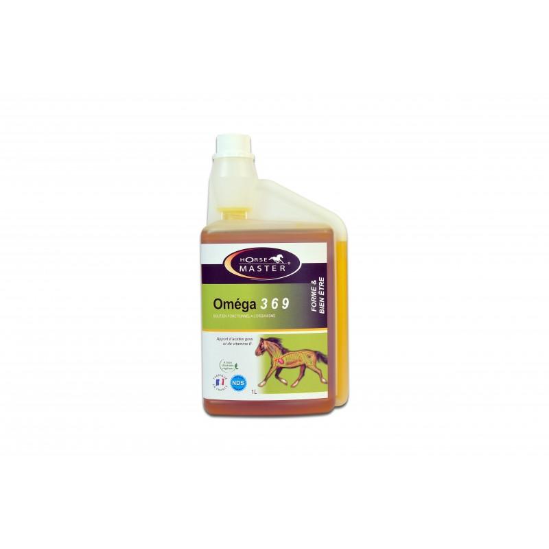 OMEGA 3 6 9  MARCHAL  HORSE MASTER