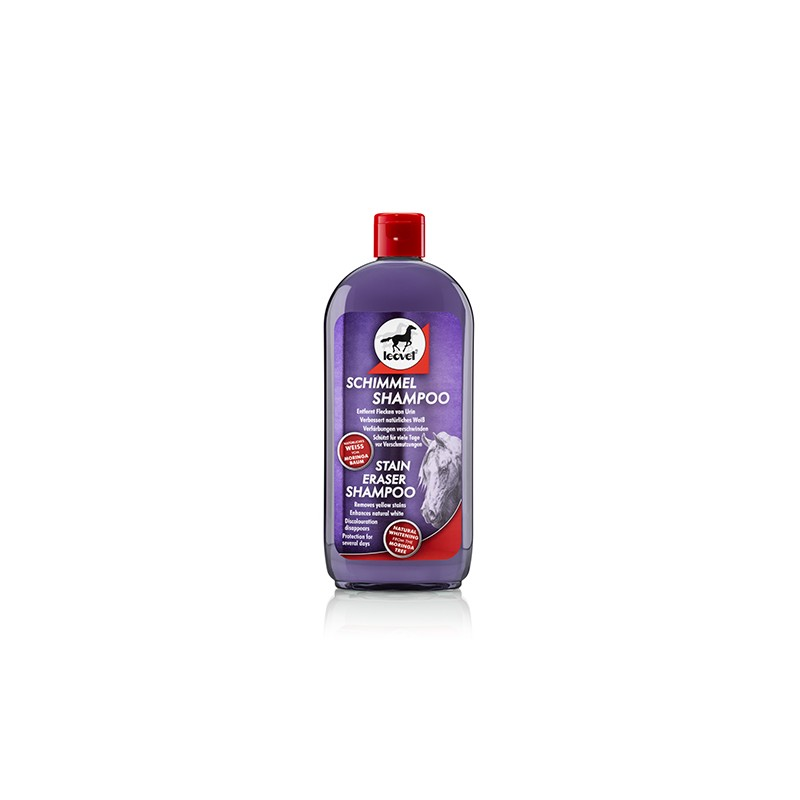 SHAMPOING CHEVAUX GRIS (500 ML)  MARCHAL  LEOVET