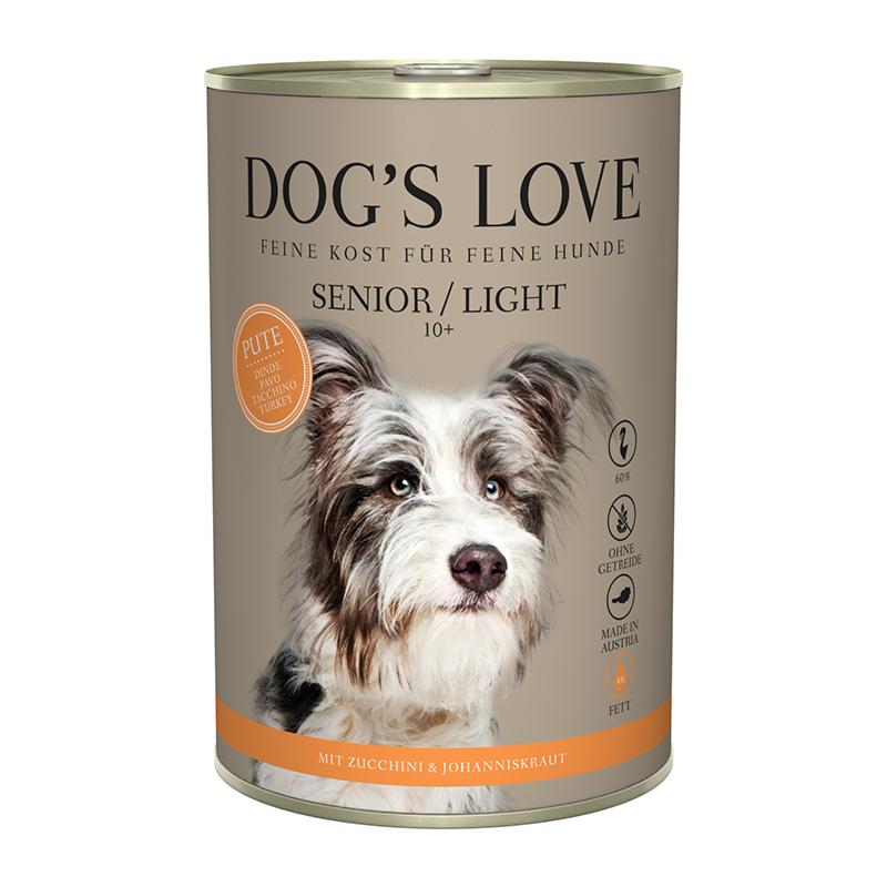 NOURRITURE POUR CHIEN SÉNIOR LIGHT (DINDE)  MARCHAL  DOG'S LOVE