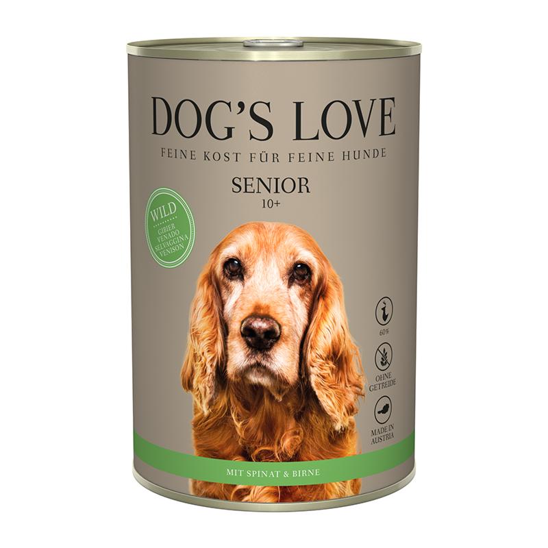 NOURRITURE POUR CHIEN SÉNIOR (GIBIER)  MARCHAL  DOG'S LOVE