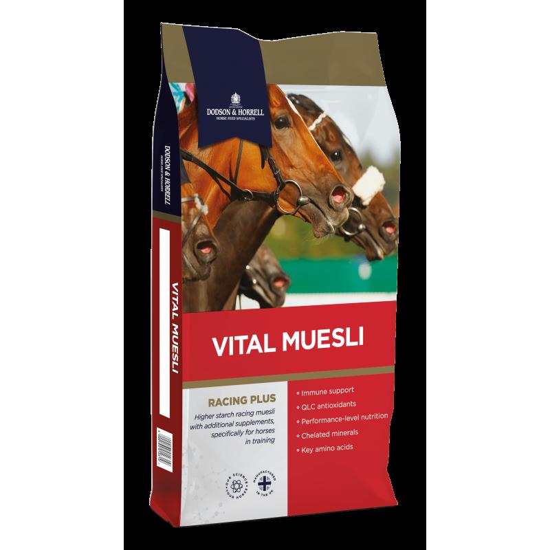 VITAL MUESLI (25 KG)  ALIMENTATION  DODSON & HORRELL
