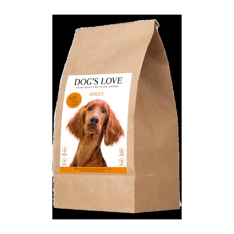 CROQUETTES POUR CHIEN (DINDE)  MARCHAL  DOG'S LOVE