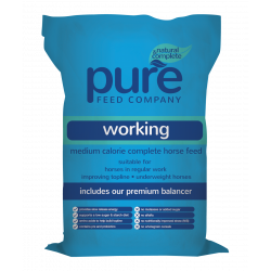 PURE WORKING PURE FEED (15 KG)